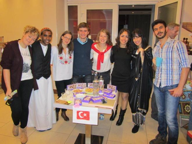 The intercultural evening event