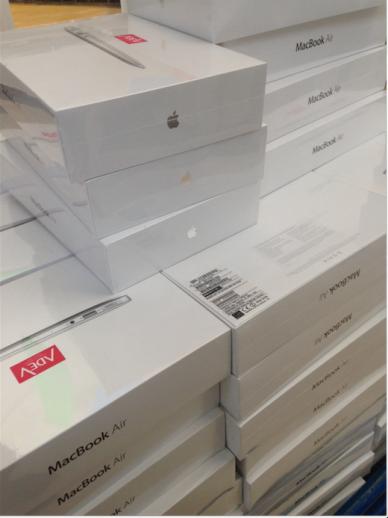 Our MacBooks