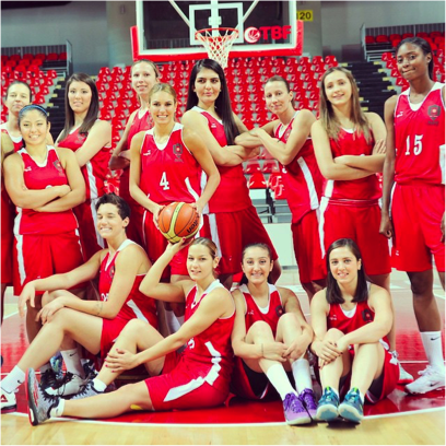 AGU Basketball Team
