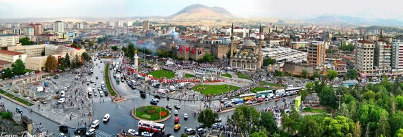 Kayseri city center