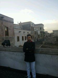 AGU student Taha in Talas