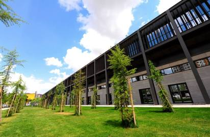 AGU Sümer Campus, Steel Building