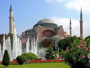 Istanbul, tourism, Hagia Sophia, from Kayseri