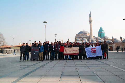 Abdullah Gül University, AGU, Student Club, Club Activities, trip, visit, discover Turkey, Konya