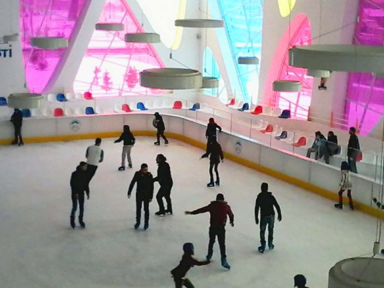 Ice-Skating, course, Abdullah Gül University, AGU, Sports Department, Mazakaland, Kayseri