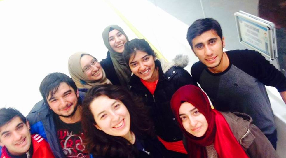 AGU, International Student, Abdullah Gül University, Student Life, Activities, Ice-Skating, Sports