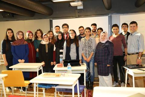 AGU, Department, Business Administration, Class, classroom, International, Abdullah Gül University