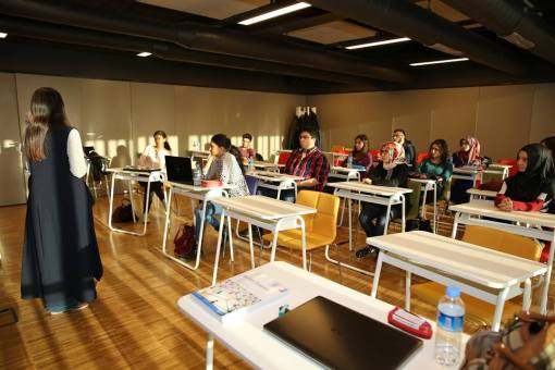 AGU, University, classroom, study, desks, Abdullah Gül University, Programs, English, Hands-on Training