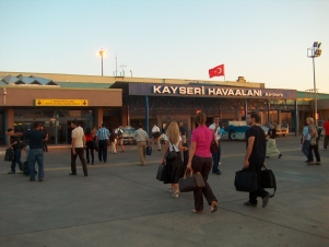 AGU, Kayseri, Airport, travel, international, come to, Abdullah Gül University