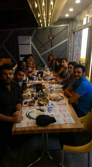 AGU, Students, International, Community, Turkish food, DOnas, Künefe, fun, restaurant