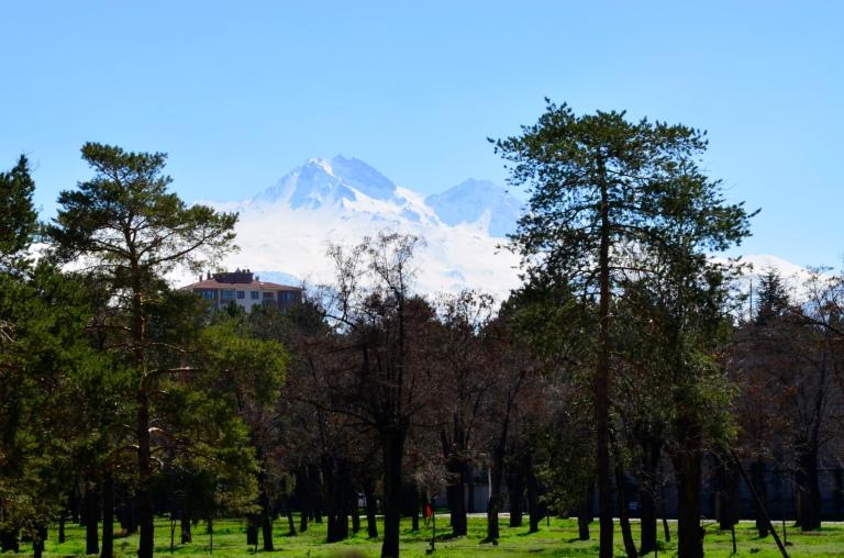 Abdullah Gül University, Campus, Sümer, Spring, Erciyes, Mountain, Snow, Ski