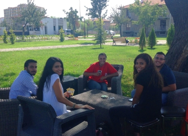 AGU, Abdullah Gül University, International Students, Dorms, Green, Area, Student Village, Welcome