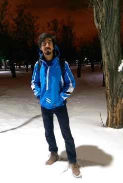 AGU, Abdullah Gül University, International, Student, Campus, Snow, Winter, Pakistan, Lahore