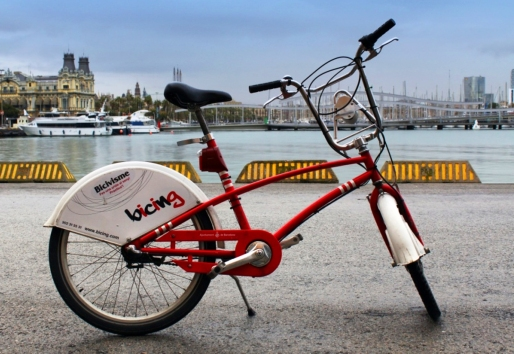 Barcelona, bike, city, internship, AGU