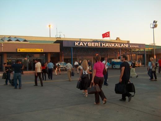 Kayseri, international airport, Abdullah Gül University, AGU