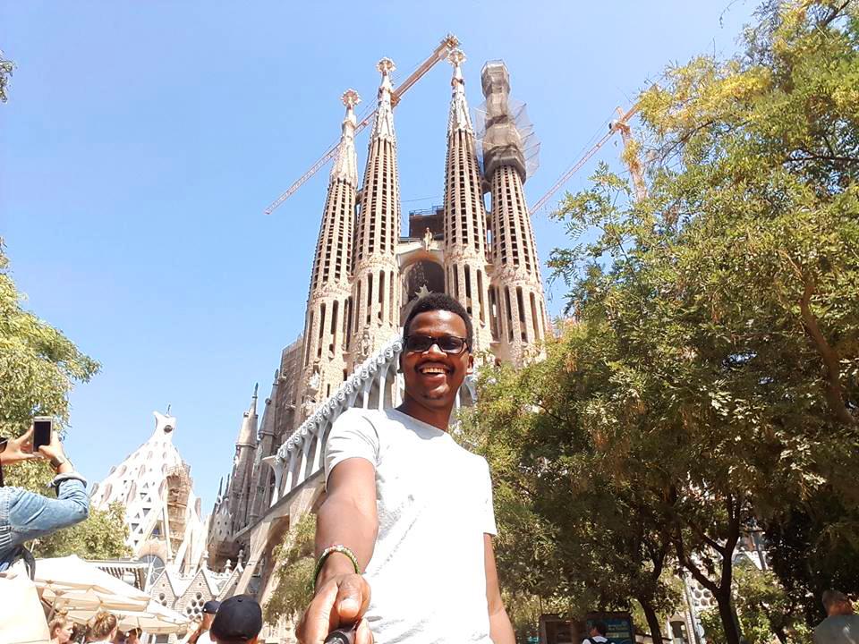 Barcelona, Sagrada Familia, Albert, Abdullah Gül University, International, Student, Internship, Abroad