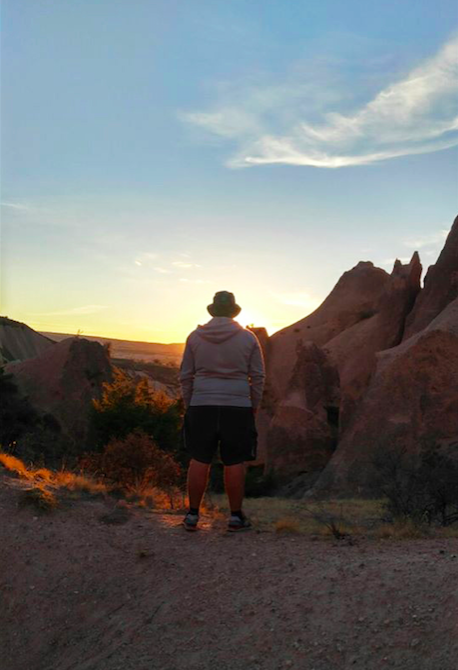 Cappadocia, valley, sunset, student, international, Abdullah Gül University, AGU