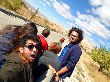 Abdullah Gül University, AGU, students,international, Turkish, hitchhiking, Kayseri, Cappadocia, trip, camping