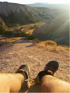 Cappadocia, valley, camping, trip, students, AGU