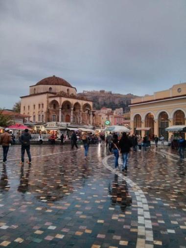 Erasmus, exchange, Greece, Abdullah Gül University, students, Athens, semester exchange, international partners
