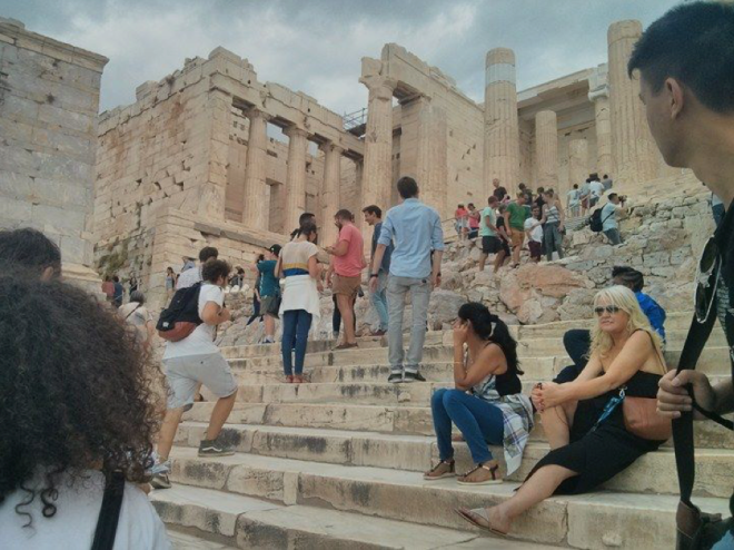 Abdullah Gül University, AGU, international, student, exchange, erasmus, Greece, Athens, ruins, tourism