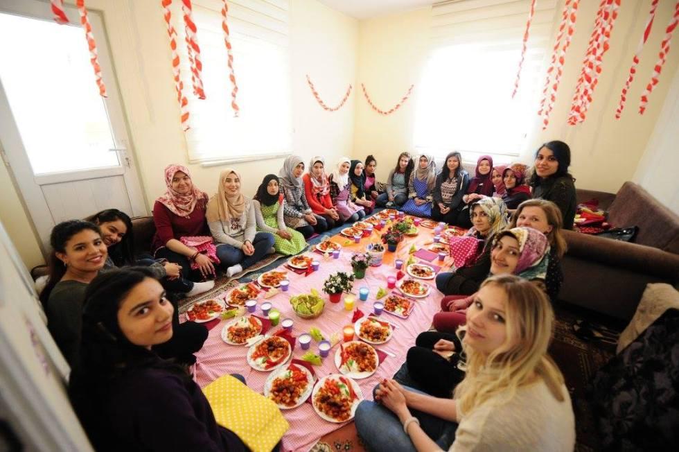 SivilLAB, Youth Factory, Abdullah Gül University, AGU, International, students, Morocco, Pakistan