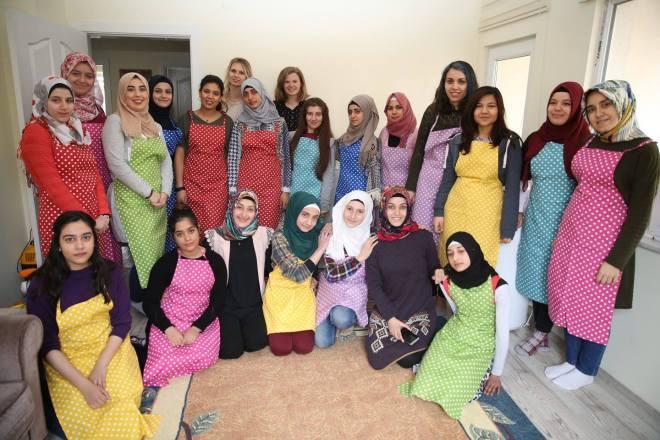 Abdullah Gül University, AGU, students, volunteer, SivilLAB, project, Youth Factory, Open Arms Kayseri