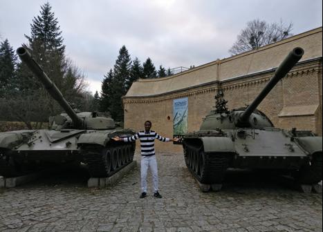 AGU, international, student, McDonald Chimzere, Poznan, Poland, Erasmus