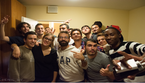 AGU, students, Turkey, international, Erasmus, friends