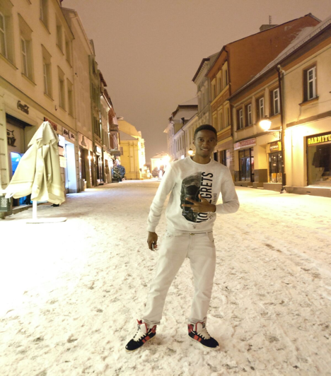 AGU, student, McDonald, Poland, snow, Fall semester, exchange