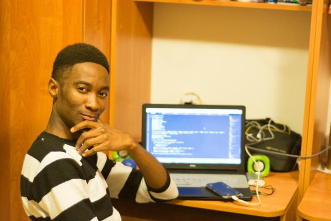 AGU, international student, computer, engineering, web developing, project