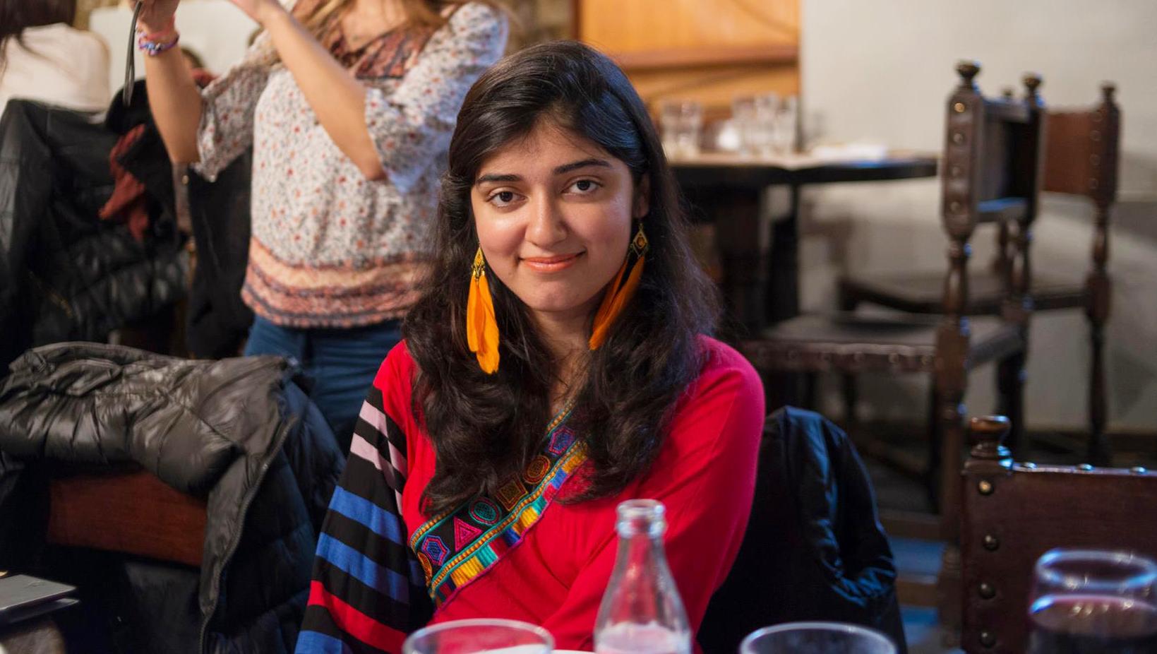 Hina, Abdullah Gül University Student from Islamabad-Pakistan