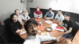 Abdullah Gül University, international, friends, students, fun, Kayseri, food, mantı, sucuk, pastırma