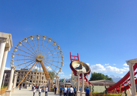 Kayseri, Turkey, Anatolia, mazakaland, amusement park, harikalar diyarı, international students, fair rides