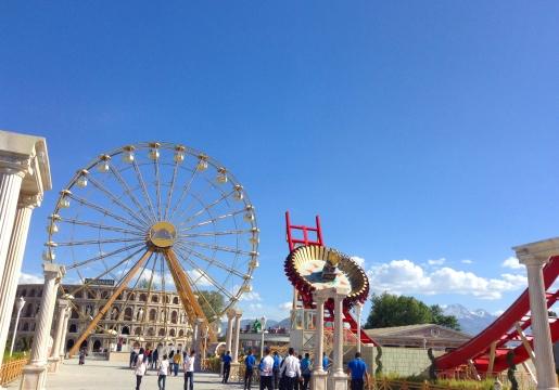 Kayseri, Turkey, Anatolia, mazakaland, amusement park, harikalar diyarı, international students, fair rides