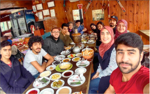 AGU, international students, discover, Turkish food, delicious
