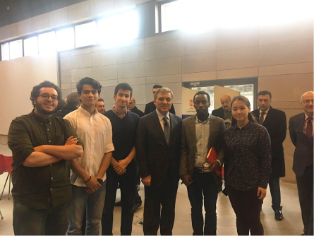 Abdullah Gül University, international, students, meet, 11th President of Turkey, Abdullah Gül, Academic Year, Opening Ceremony