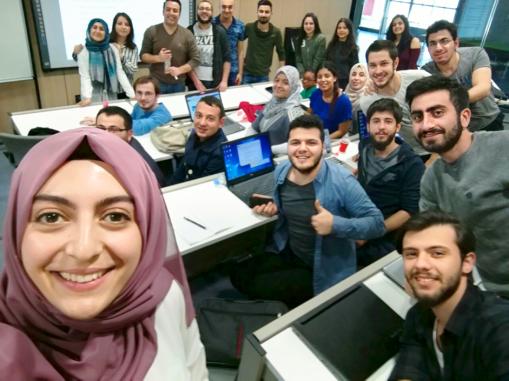 Abdullah Gül University - Business Administration Classroom