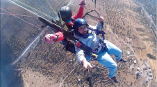 AGU, summer, on-campus, green campus, paragliding, mt Ali, Kayseri