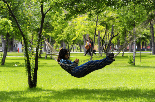AGU, summer, on-campus, green campus