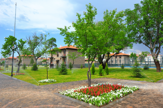 AGU, dorms, student village, on-campus, accomodation, comfortable, furnished, green area