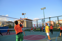 Abdullah Gül University, AGU, on-campus, sports facilities, football, soccer, Basketball, tennis, volleybal