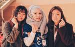 Feyza, Abdullah Gül University, Solbridge, exchange student, My Korean friends- Club Expo Day