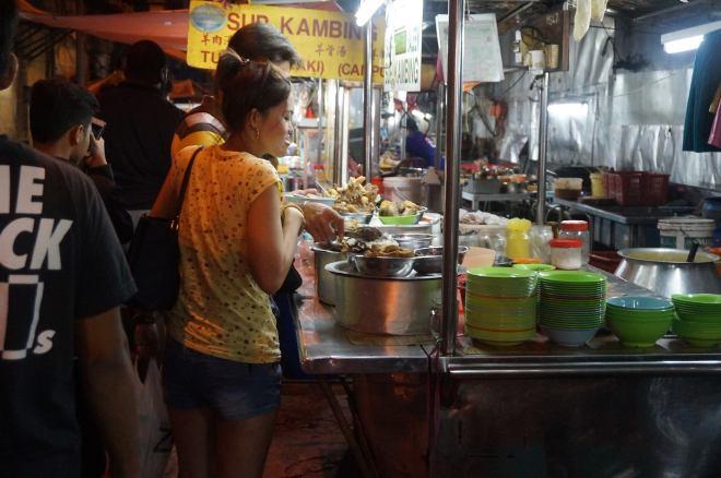 Kuala Lumpur, Malaysia, Street food