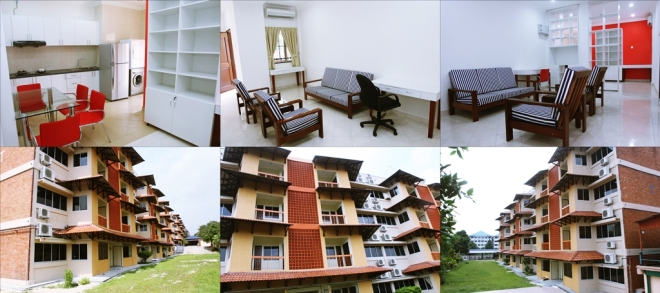 University of Malaya, off-campus, dorms, international house