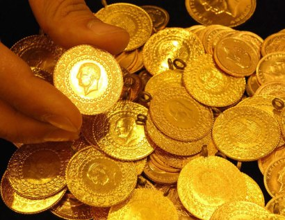 Turkey, gold, coins, Atatürk