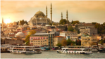 Istanbul, Turkey, skyline, electrical grid