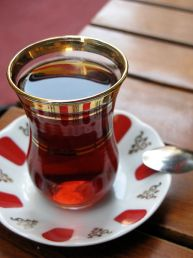 Turkish tea, çay