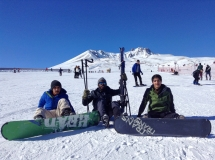 Abdullah Gül University, students, international, students, skiing, Erciyes mountain, ski resort