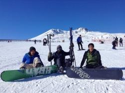 Abdullah Gül University, students, international, students, skiing, Erciyes mountain, ski resort